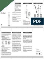 Manual Utilizare Periuta Electrica