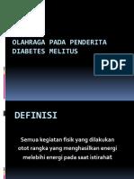 Olahraga Pada Penderita Diabetes Melitus