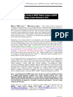 Network 3-SMTP Server Status Codes and SMTP Error Codes