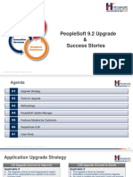 PeopleSoft 9.2 Upgrade & Success Stories