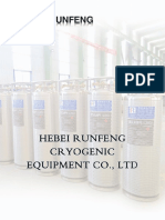 Runfeng Cryogenic Cylinder