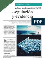 Comercio paralelo de medicamentos en la UE (regulación y evidencia)