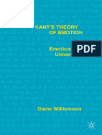 Diane Williamson-Kant's Theory of Emotion_ Emotional Universalism-Palgrave Macmillan (2015)