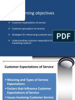 PPT3- Consumer Expectations and Service Quality