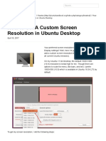 How to Set a Custom Screen Resolution in Ubuntu Desktop _ UbuntuHandbook