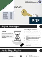 Aspek Keuangan - Kelompok 1 - 7 AK 8