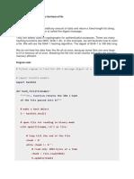 Programs Code