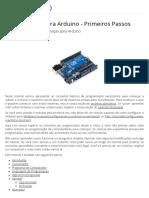 Programação Para Arduino - Primeiros Passos - Conceitos Iniciais de Programação Para Arduino - Projeto de Eletrônica Modular Com Arduino - Circuitar