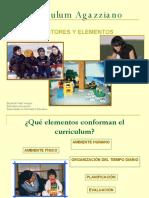 Elementos Curriculum Agazziano 8102