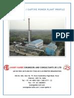 Captive Power Plant Profile