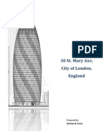 Report on - 30 St. Mary Axe