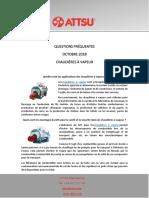 Questions Fréquentes octobre 2018 - Chaudières à Vapeur
