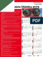 Calendario Didattico 2017_18