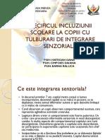 SPECIFICUL INCLUZIUNII SCOLARE LA COPIII CU TULBURARI DE.pptx