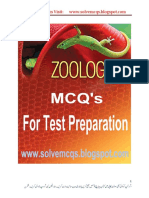 Zoology Most Important MCQs For Test.pdf