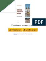 5WMJ Fondations Et Ouvrages en Terre Par Grard Philipponnat Bertrand Hubert