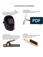 10 Different Welding Tools and Equipment