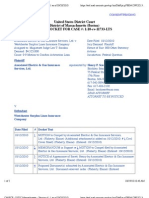 ASSOC ELECTRIC & GAS INSURANCE SERV, LTD. V. WESTCHESTER SURPLUS LINES INSURANCE CO Docket