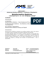 AMS Bioinformative Medicine Detailed Overview