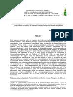 O INGRESSO DE MULHERES NA POLÍCIA MILITAR DO DISTRITO FEDERAL