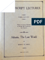 Hall, Manly P. - Manuscript Lectures No.42 - Atlantis.pdf