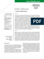 Osteoartritis  Obesidad Inflamación