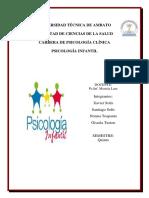 Informe Psicología Infantil 1