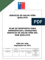 Plan de Desastre Ssvq