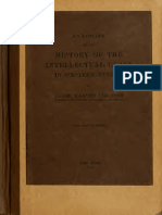 James H Robinson - An outline of the history of the intellectual class in western Europe - 1915 compilacao das aulas em Columbia.pdf