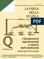 Quaderno elettrostatica