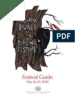 2019 Indiana Dunes Birding Festival Guide