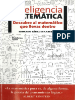 Inteligencia Matematica Eduardo Saenz PDF