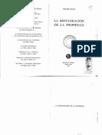 La restauración de la propiedad - Hilaire Belloc.pdf