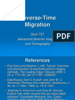 23. Reverse-Time Migration