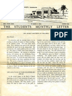 Hall, Manly P. - Students Monthly Letter 4th Year - Secret Doctrine in the Bible Nr.06