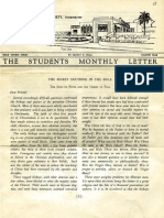 Hall, Manly P. - Students Monthly Letter 4th Year - Secret Doctrine in the Bible Nr.11