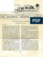 Hall, Manly P. - Students Monthly Letter 4th Year - Secret Doctrine in the Bible Nr.12