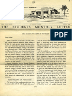 Hall, Manly P. - Students Monthly Letter 4th Year - Secret Doctrine in the Bible Nr.09