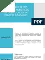 Importancia de Los Metodos Numericos en La Simulacion