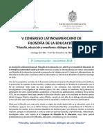 Congreso de Filosofia de La Educación