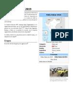 Rally Dakar de 2019