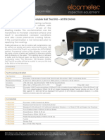 Kit 138 Astm Abrasive Sault Solubles