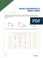 S-1_Razones Trigonométricas de Ángulos Notables