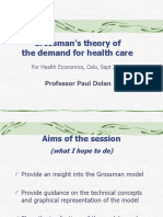 Grossman model