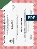 Modelo - Diploma