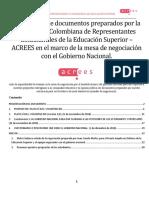 Compendio Documentos ACREES 2018
