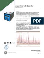 Anomalert Generator Anomaly Detector Datasheet-288496c