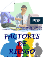 Factores de Riesgos Laborales en Power Point