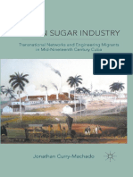Cuban Sugar Industry. Transnational Networks and Engineering Migrants in Mid-Nineteenth-Century Cuba (Libro Digital)