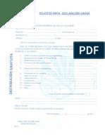 Plan 10122 Formato de Solicitud Unico 2011